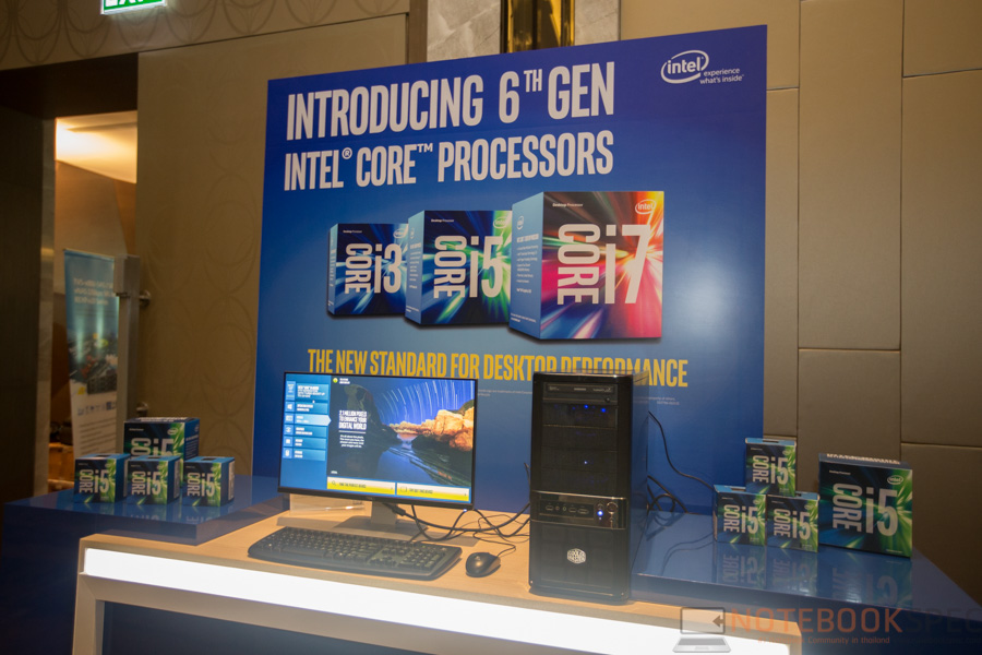 Intel Launch Core i Gen 6 Skylake-37