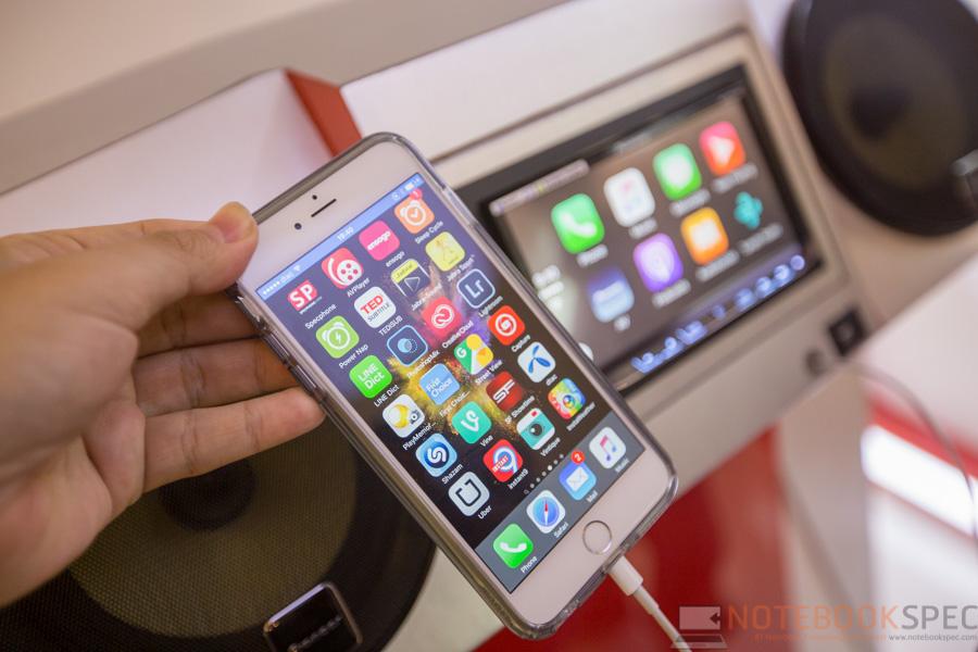Pioneer Launch Apple Car Play 2015-20