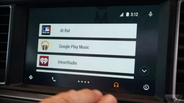 google Android Auto 600