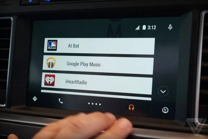 google Android Auto 600