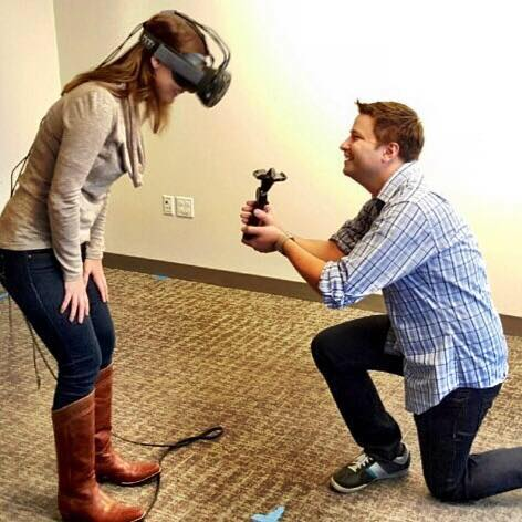 virtual reality to propose real-life marriage 600 01
