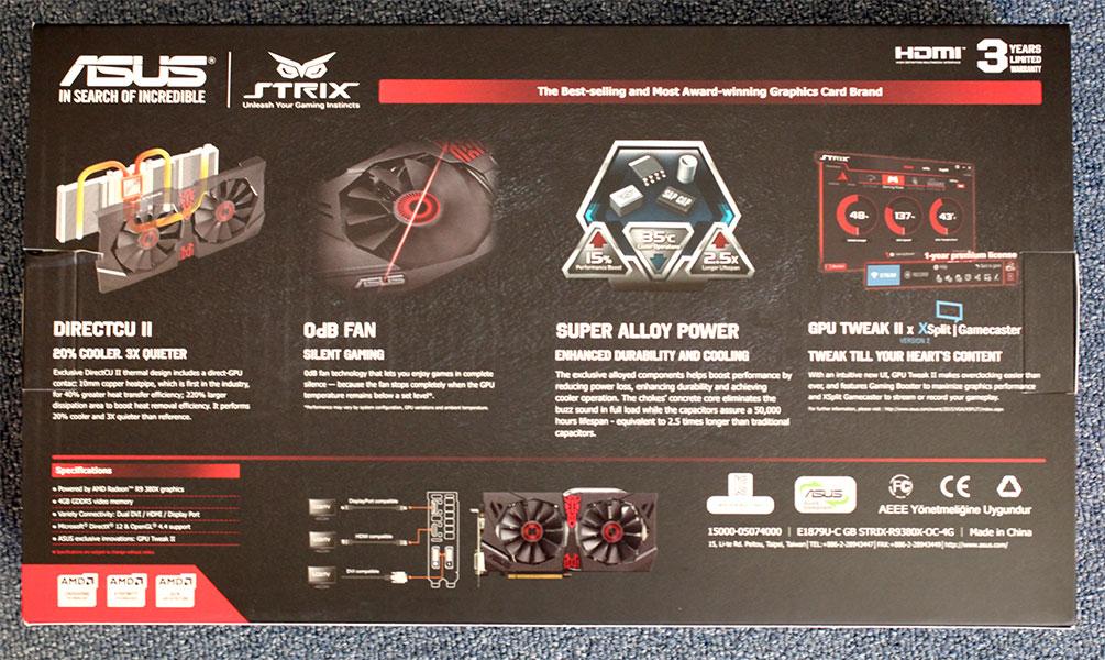 ASUS Radeon R9 380X STRIX 600 002