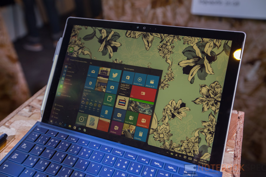 Microsoft Surface Pro 4 Preview NBS-33