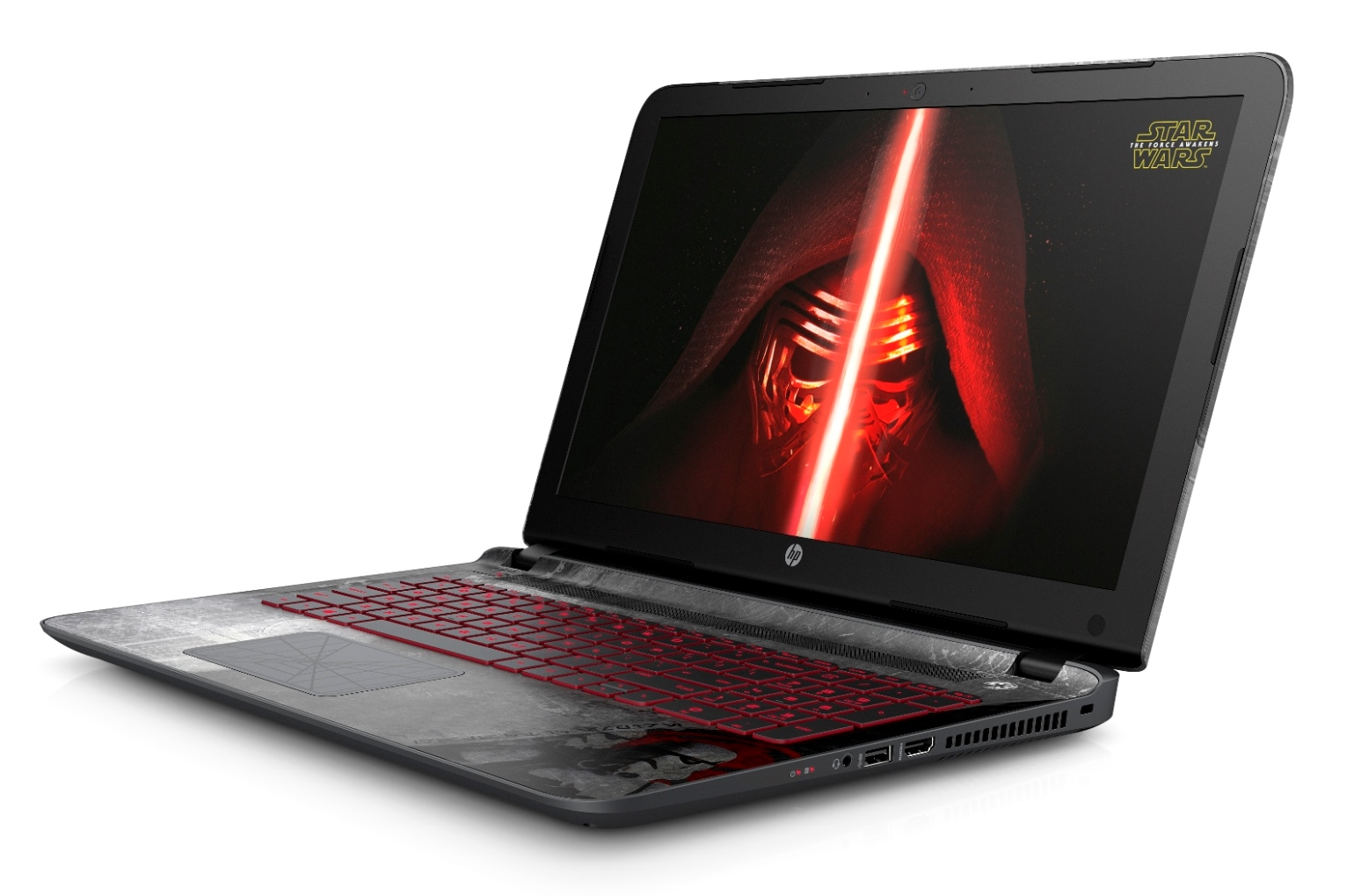 HP Pavilion Star Wars Special Edition_Left Facing