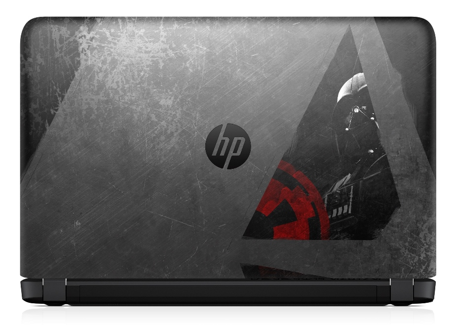 HP Pavilion Star Wars Special Edition_Rear