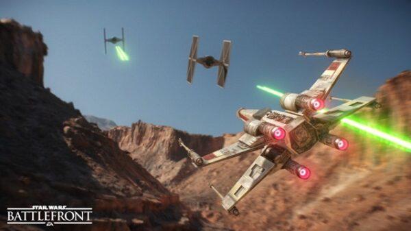 Star Wars Battlefront Tie Fighter dog fight 790x444