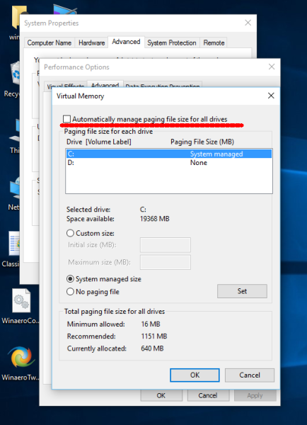 Windows 10 page file settings-4