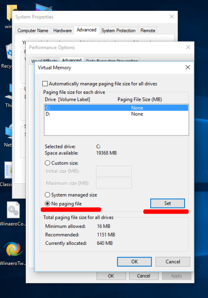 Windows 10 page file settings-5