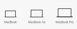 macbook compare 600