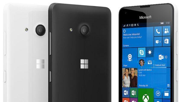 microsoft lumia 550 front back 600
