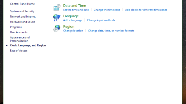 windows10 change date time 1