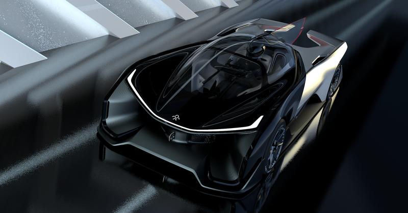 Faraday Future - FFZERO1 concept 600