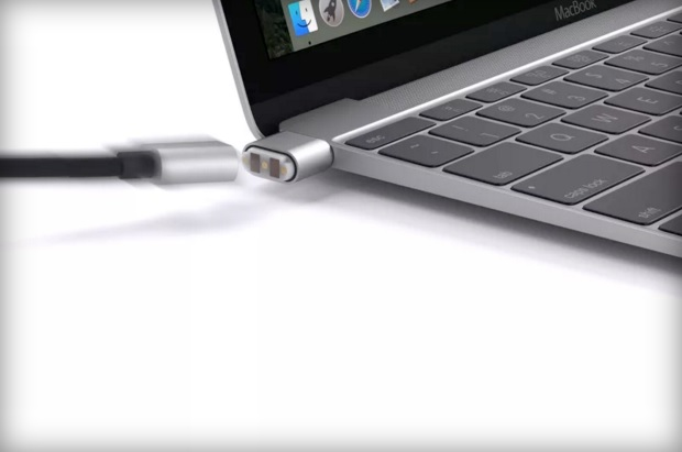 Griffin BreakSafe Magnetic USB-C adapter for MacBook 600