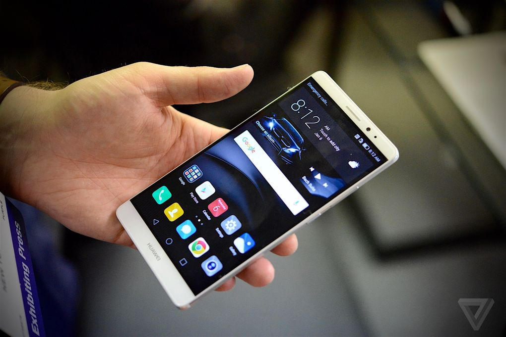 Huawei Mate 8 from CES 2016 600 01
