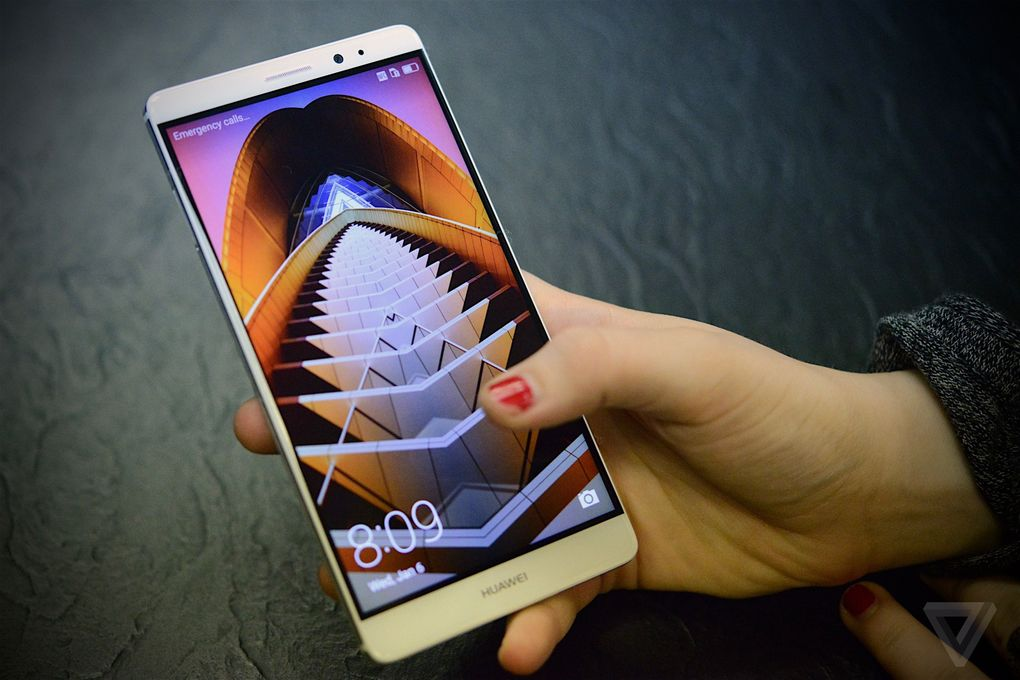 Huawei Mate 8 from CES 2016 600 05