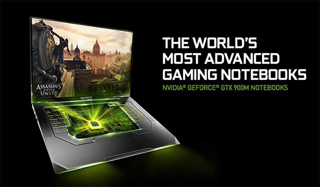 NVIDIA GTX 900M for notebook 600