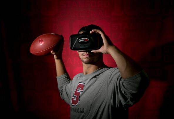 Stanford's College Football Success Due to VR 600 01