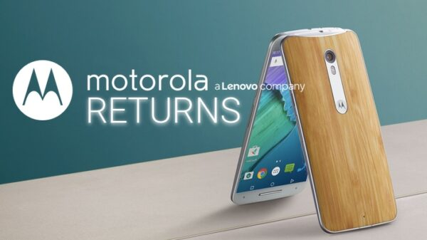 motorola returns with new name