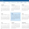 windows 10 insider calendar year view 1