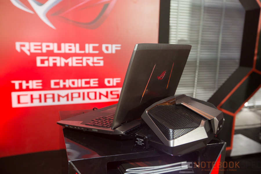ASUS Preview Hands-on ROG GX700 TH2016-12