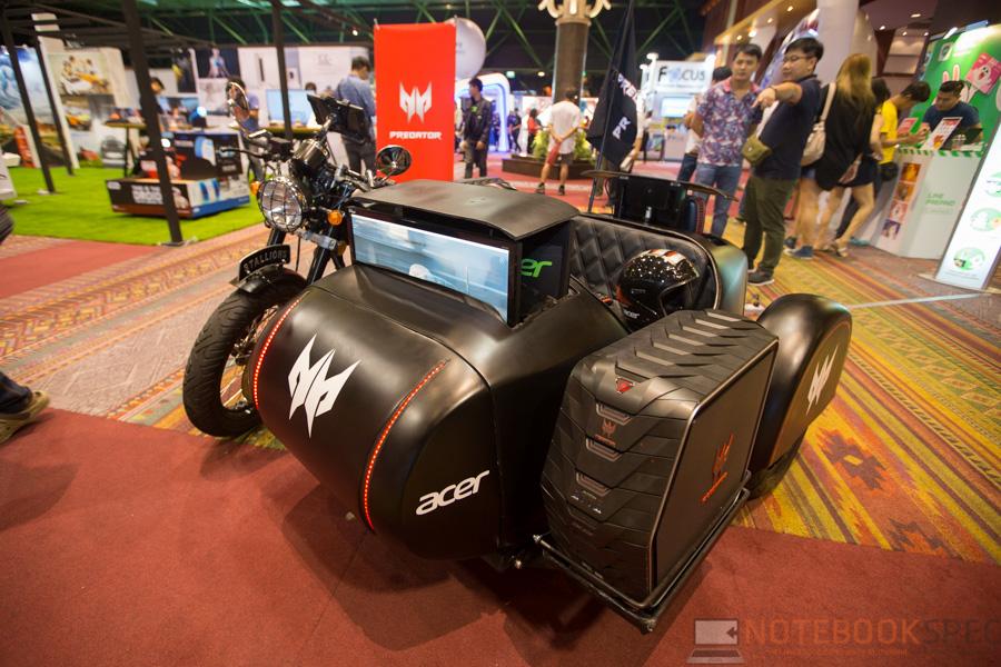 Acer Predator in tme 2016-19