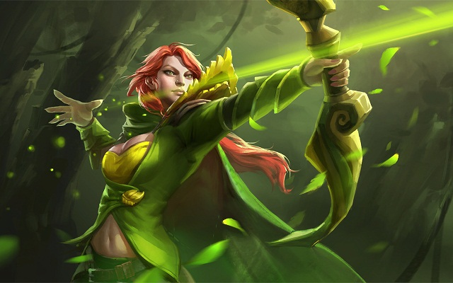 windranger-flying-arrow-wallpaper