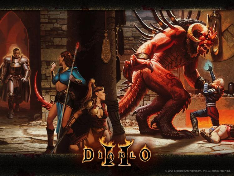 Diablo II update