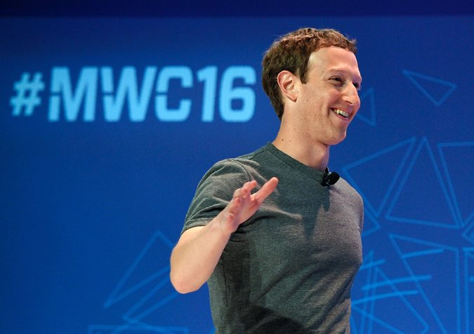 Mark Zuckerberg expressed sympathy for Apple in a speech at the Mobile World Congress 600