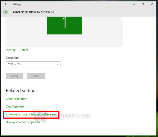 how to change fonts size windows10