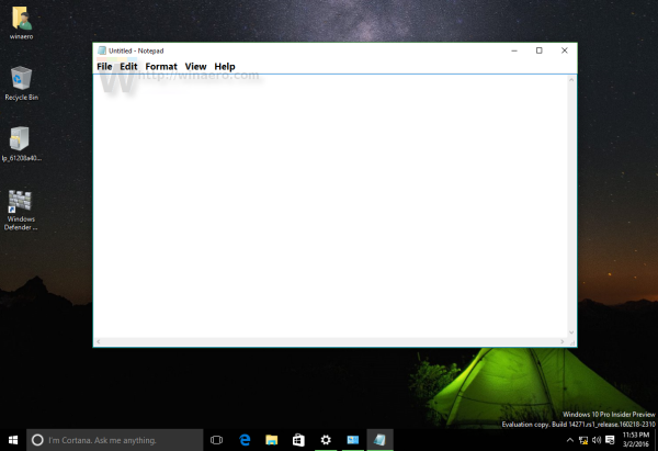 how to change font size windows 10