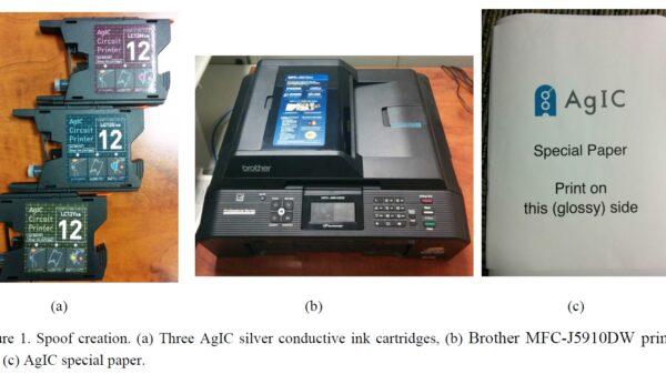 fingerprint spoof kit 600 01 e