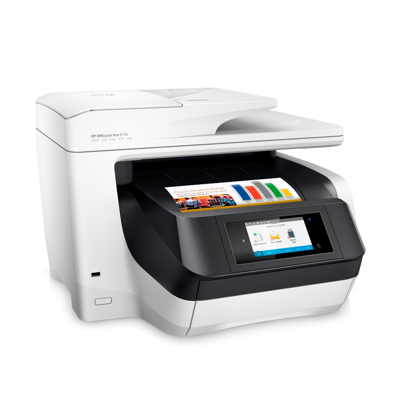 3-HP OfficeJet Pro 8720 All-in-One Printer