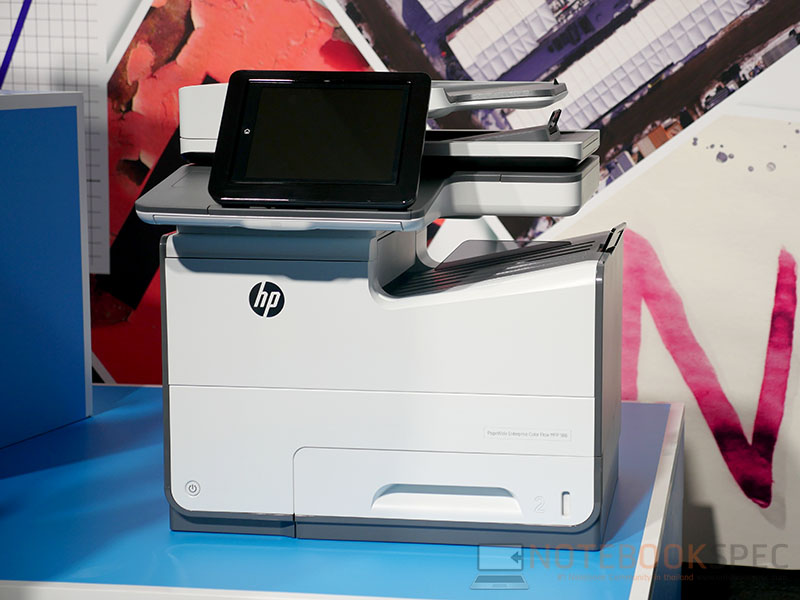 HP PageWide Enterprise Color MFP 586