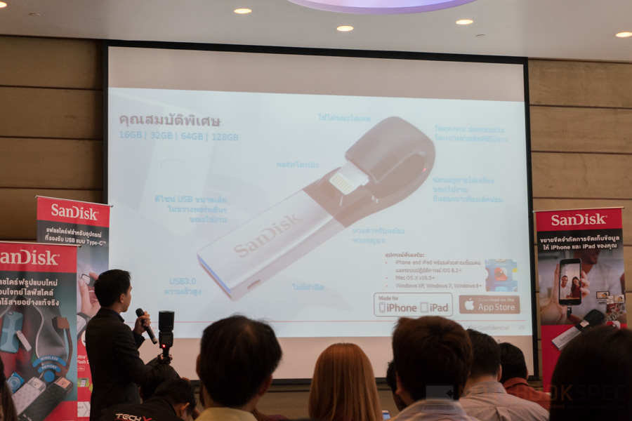 Sandisk Launch iXpand Flash Drive-19