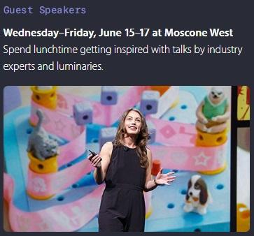 WWDC 2016 quest speakers 600