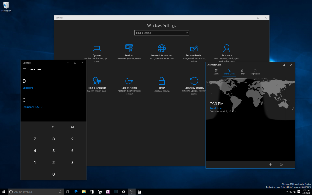 Windows 10 Insider Preview Build 14316 600 04