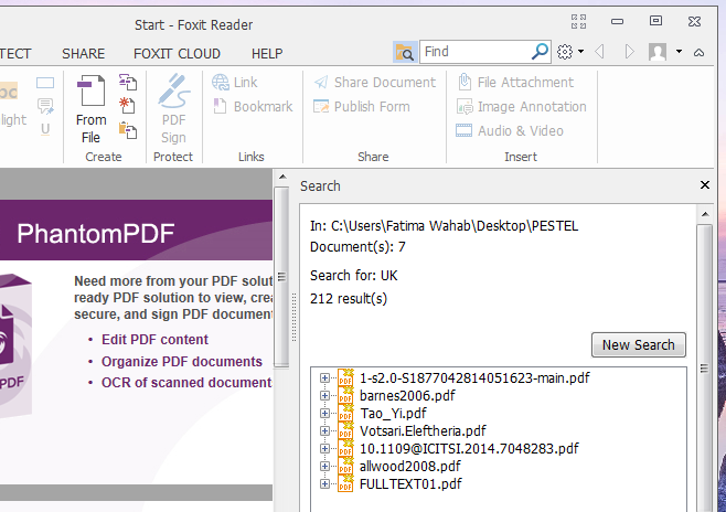 how to save foxit pdf