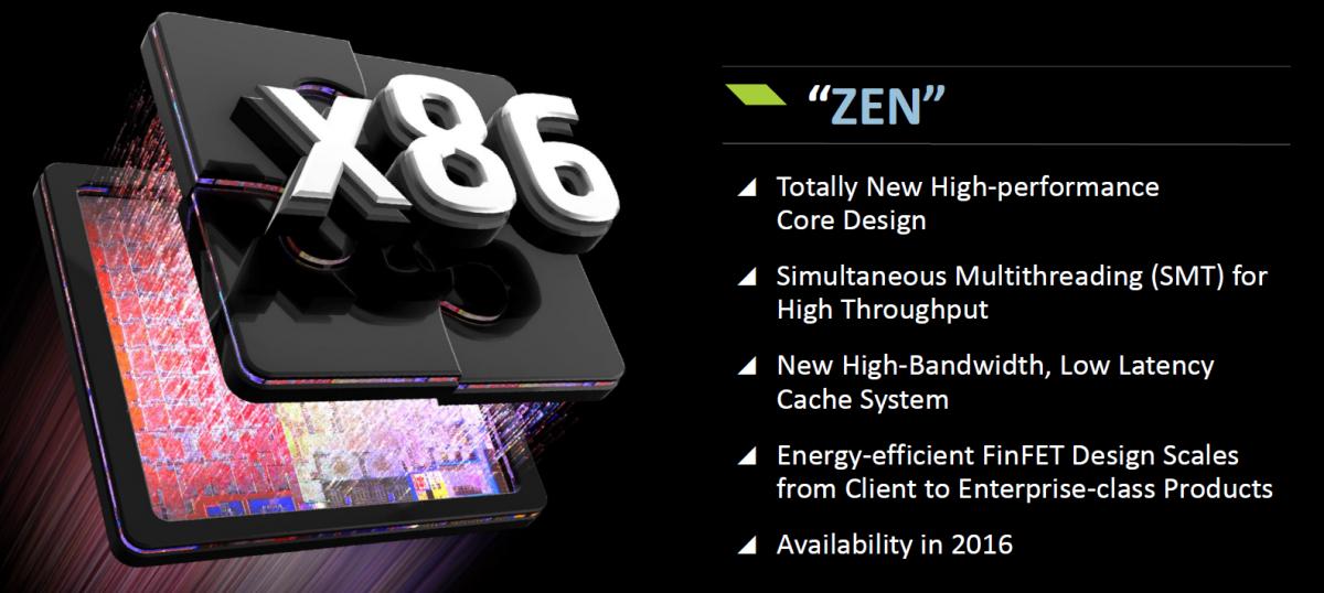 AMD zen x86 SOC spec 600