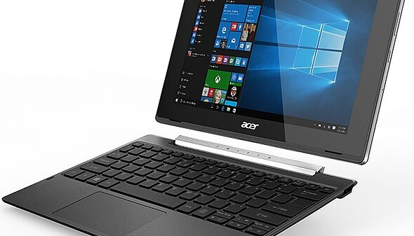 Acer Switch V 10 Windows 10 convertible with Intel Atom processor 600