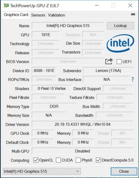 HD Graphic 515