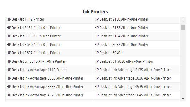 HP ink-5