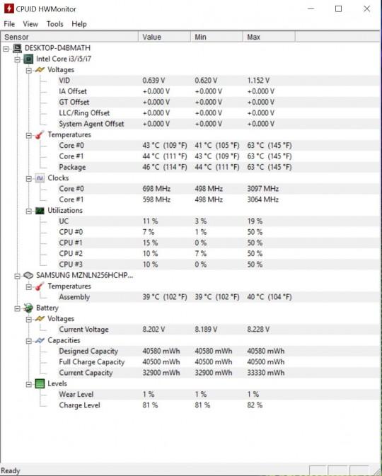HW Monitor Normal