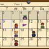 Stardew Valley Kalender Sommer