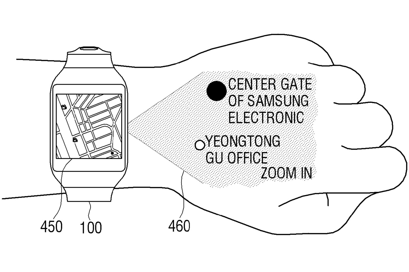 samsung-smartwatch-projector-patent 600