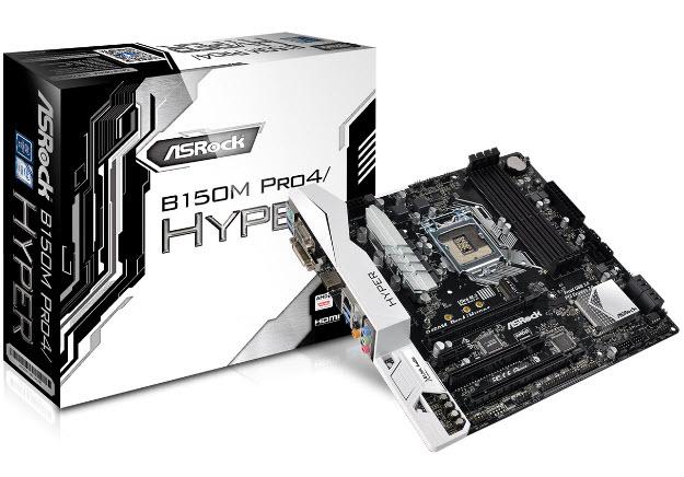 ASRock B150M Pro4 Hyper-box