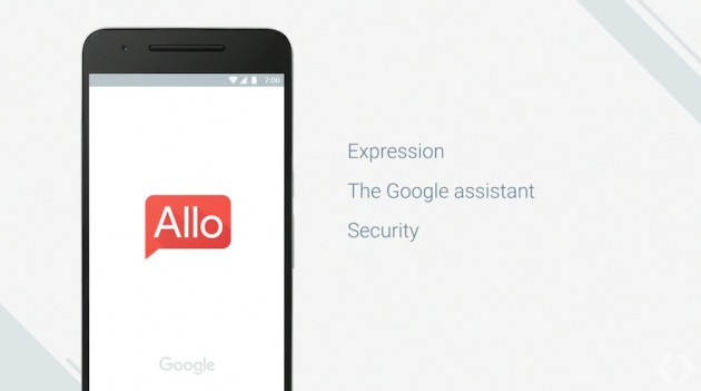 Allo messaging service 600