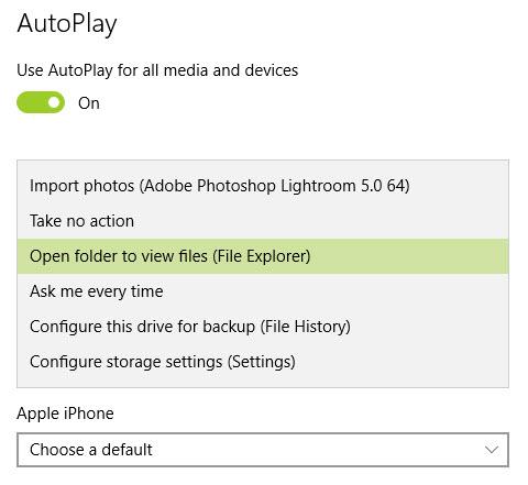 Autoplay-windows 10-3