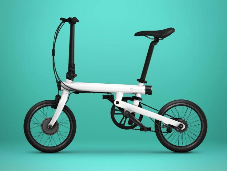 Mi QiCYCLE Electric Folding Bike 600 01