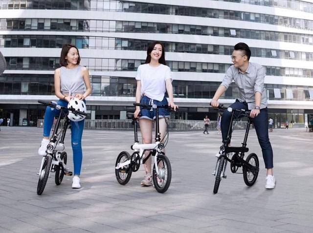Mi QiCYCLE Electric Folding Bike 600 03