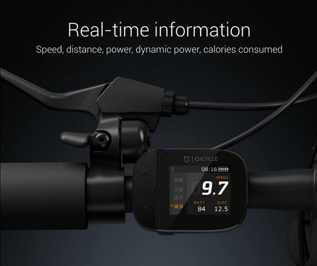 Mi QiCYCLE Electric Folding Bike 600 04